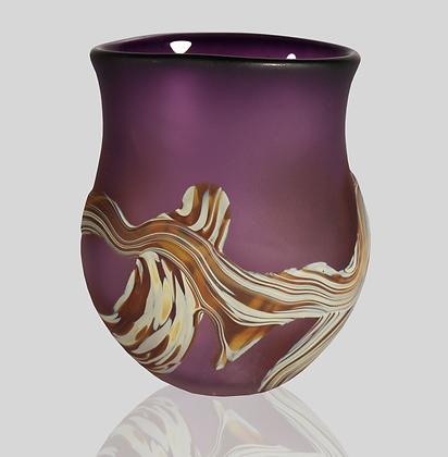 Purple Root Vase