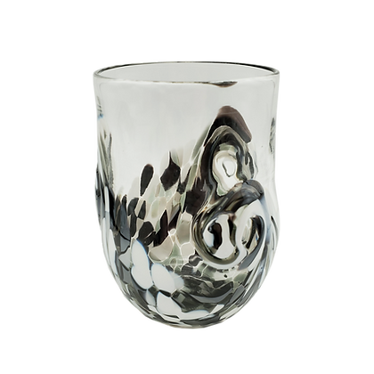 Black and White Twisty Cup