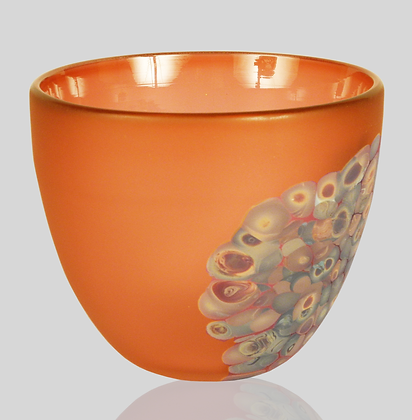 Orange & Wood Flava Bowl