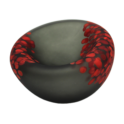 Jelly Bowl Grey/Red