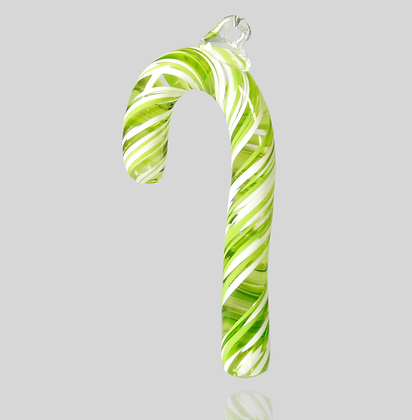 Lime & White Candy Cane