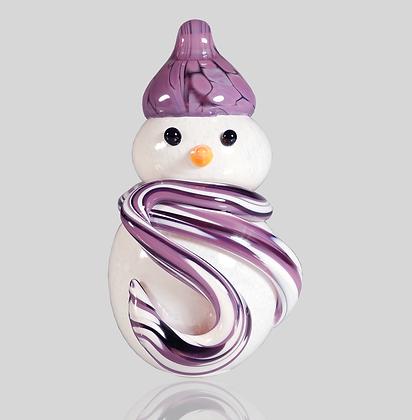 Purple Snowman