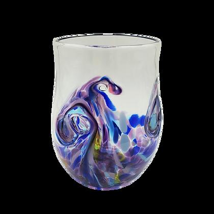 Purple Burst Twisty Cup