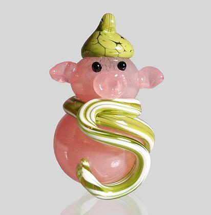 Lime Snow Pig