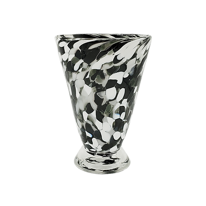 Black & White Speckled Cup