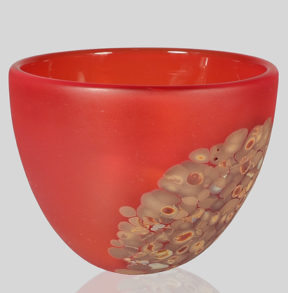Red & Wood Flava Bowl