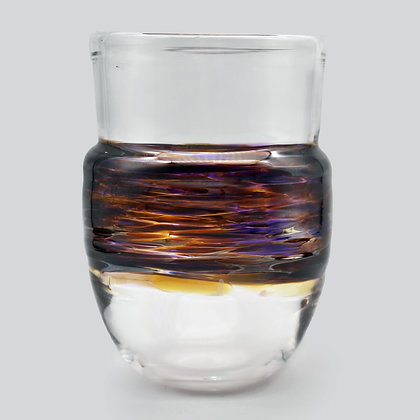 Purple Amber Wrap Cup