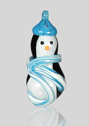 Light Blue Snow Penguin