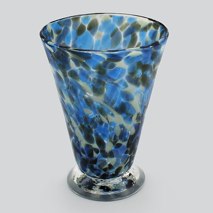 Blue Grey Speckled Cup