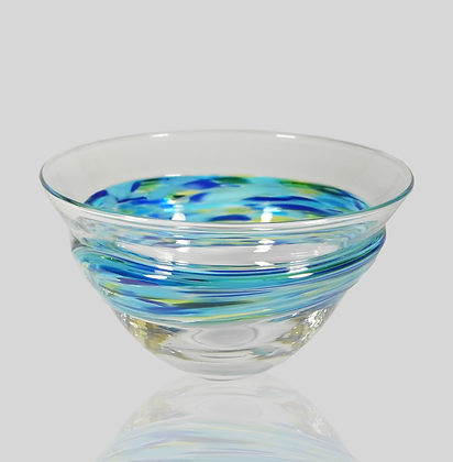 Blue Wrap Bowl