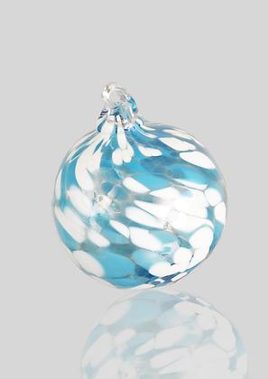 Light Blue & White Ball