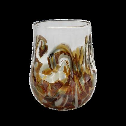 Amber Grey Twisty Cup