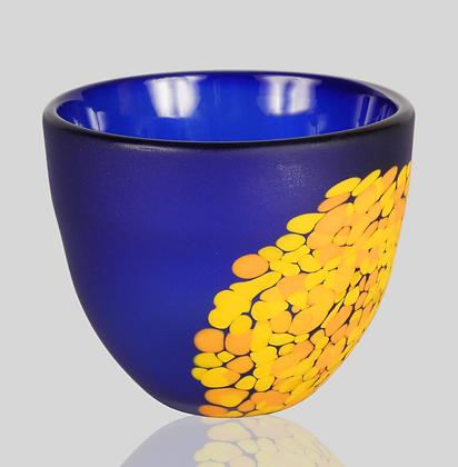 Cobalt & Orange Flava Bowl