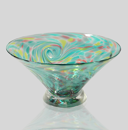 Teal Starry Bowl