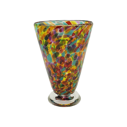 Mardi Gras Speckled Cup