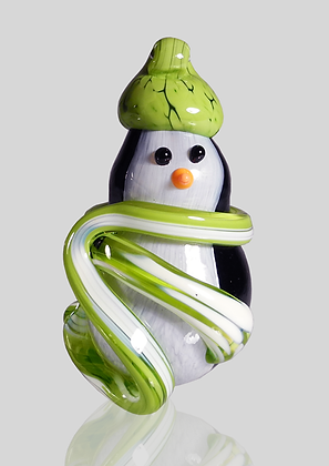 Lime Snow Penguin