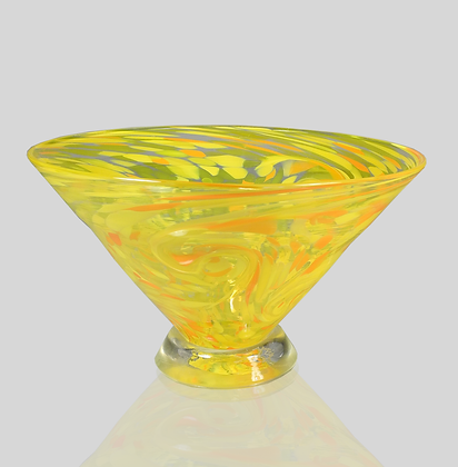 Yellow Starry Bowl