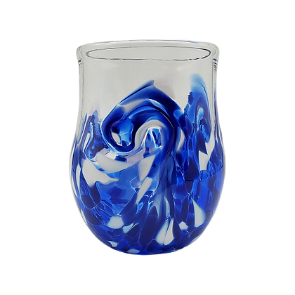 Royal Blue Twisty Cup