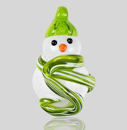 Lime Snowman