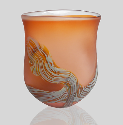 Apricot Root Vase