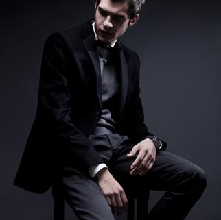 Smart Male Model