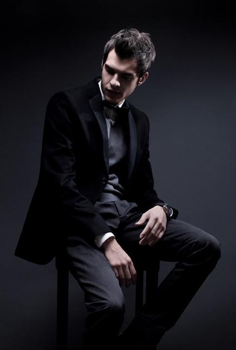 Inteligente Modelo masculino