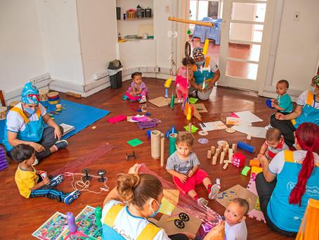 CDI Casa de Luz abre sus puertas a los niños y niñas de la comuna 10
