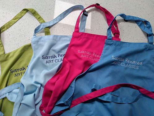 Aprons for Art Activities