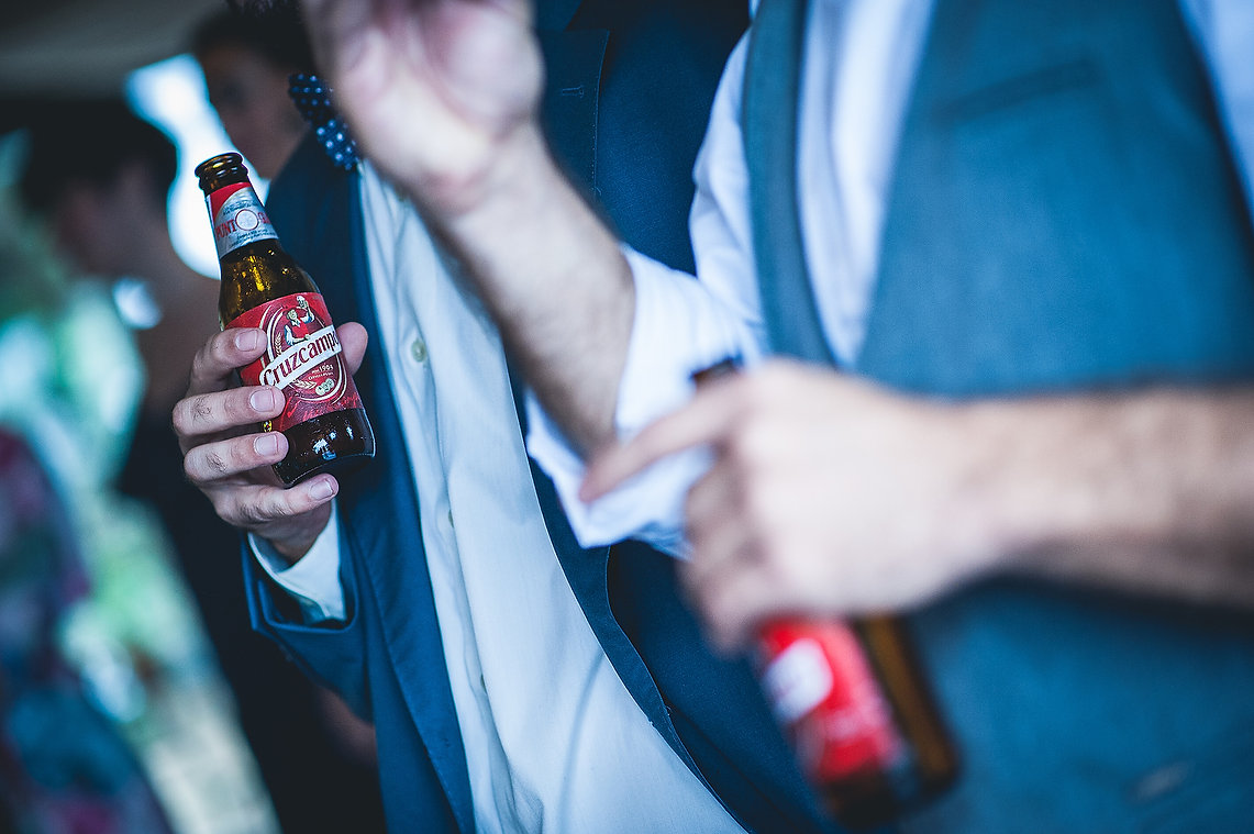 cerveza, bodas
