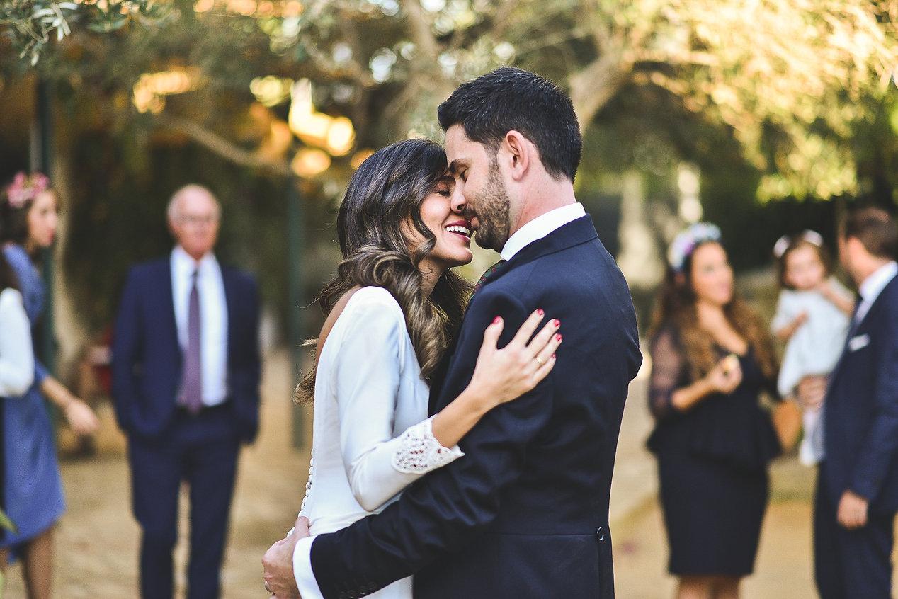 novio, novia, invitados, padrinos, ramo de novia, fotografo sevilla