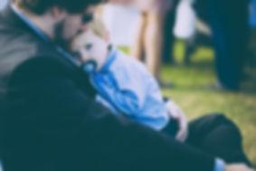 niño con el papa