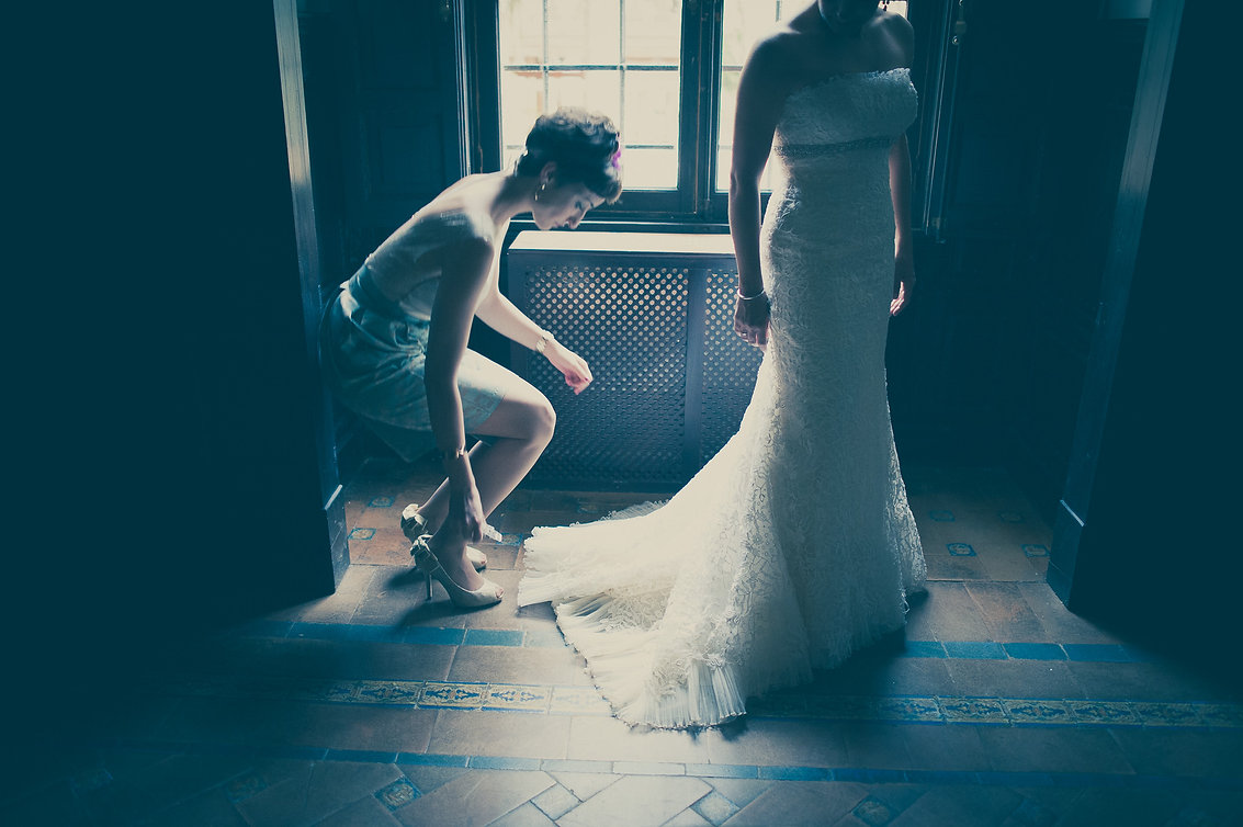 novia y traje de novia
