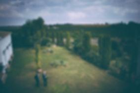 vista general de la hacienda