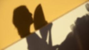 sombras, abanico