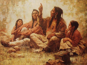 An Unlikely Healer - American Indian Village Life