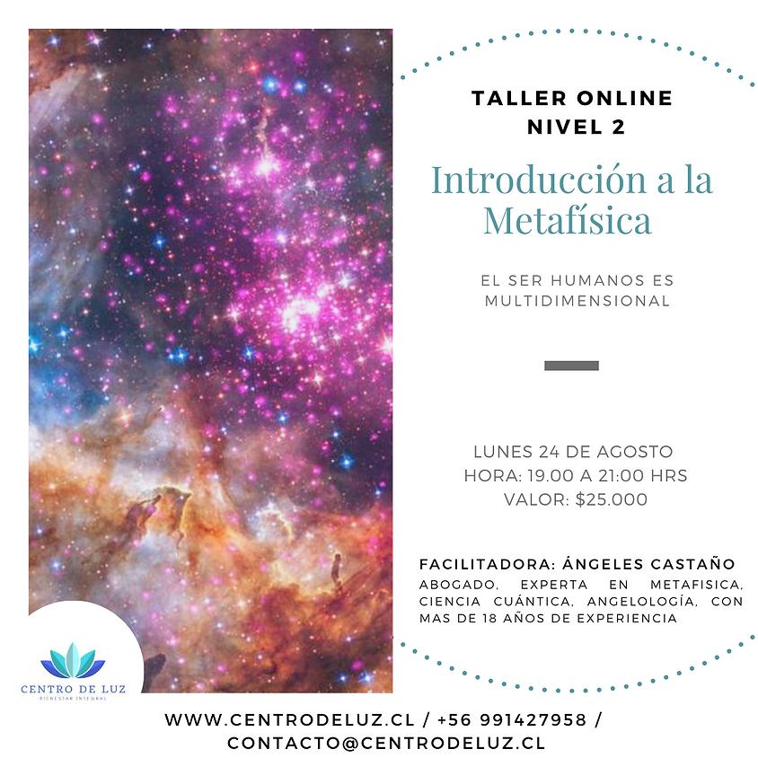 Taller Introducción a la Metafísica Nivel 2