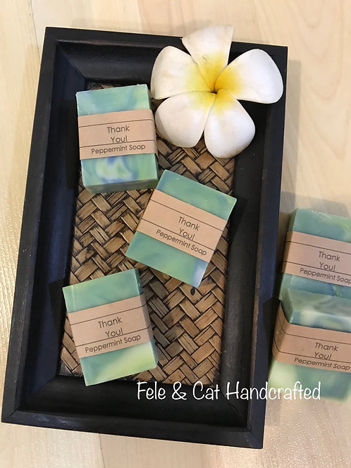60pcs CP Mini Soap Bar/Wedding Shower/Baby Shower/Door Gifts/Airbnb