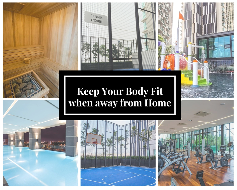 Keep your body fit when away from home 1