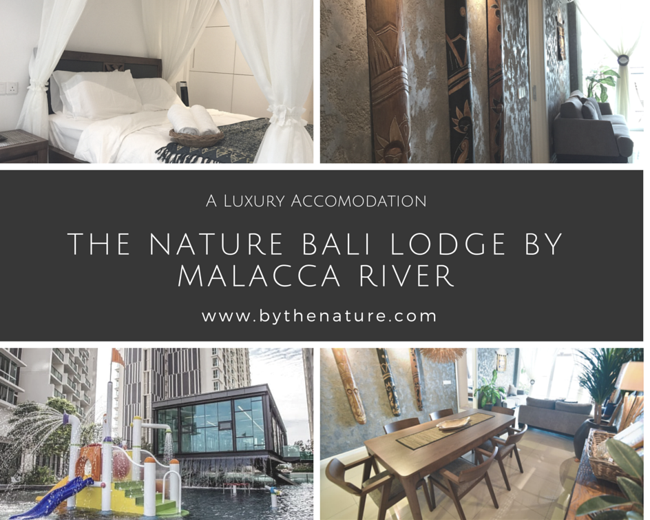 The nature bali lodge by malacca river