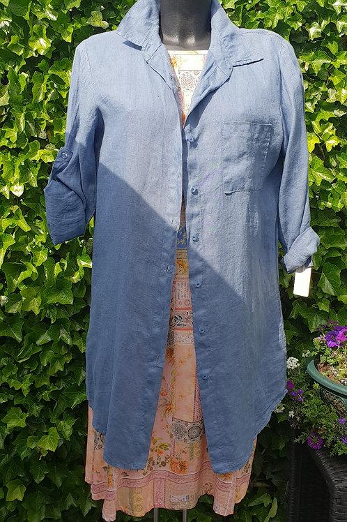 Linnen Hemd blouse