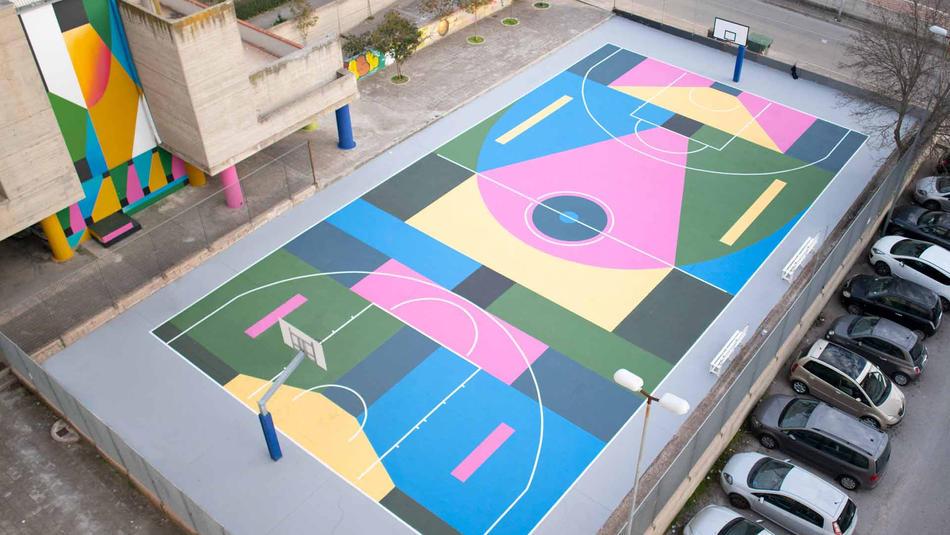 Basketcourt
