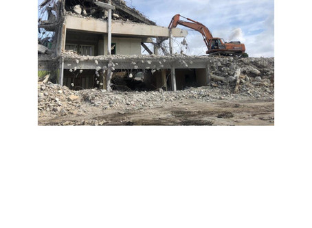 Clarence A. Bain Building Demolished