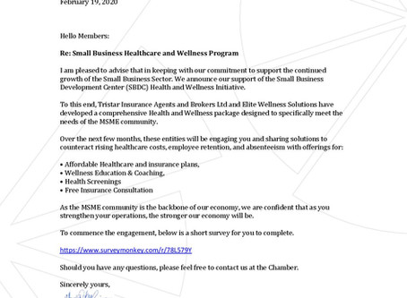 Small Business Healthcare and Wellness Program