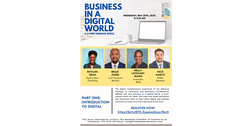 DTC Webinar | Business in a Digital World - Introduction to Digital