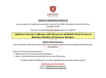 BCCEC Member Promotion - Lighthouse Security Services Ltd.