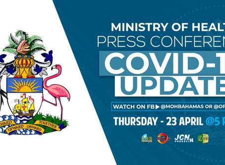 Covid-19 Update Press Conference - 23rd April 5 PM