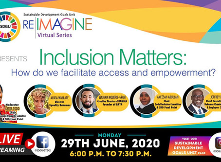 ReIMAGINE Virtual Series - Inclusion Matters - June 29th 2020