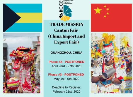POSTPONED: CHINA TRADE MISSION