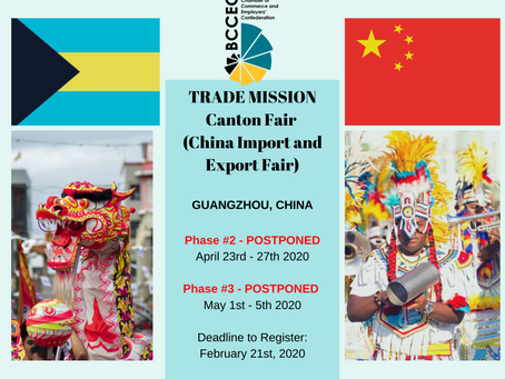POSTPONED: CHINA TRADE MISSION
