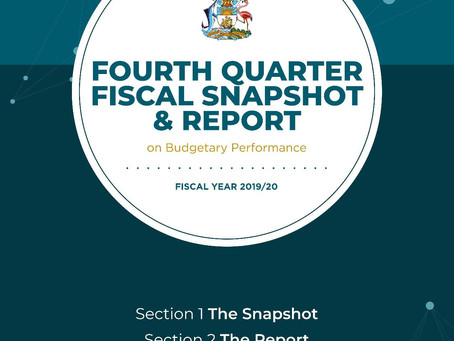 Fourth Quarter Fiscal Snapshot & Report on Budgetary Performance - Fiscal Year 2019/20